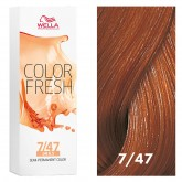 Wella Color Fresh 7/47 Medium Blonde/Red Brown 2.5oz