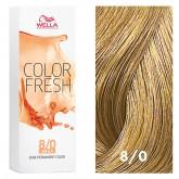 Wella Color Fresh 8/0 Light Blonde/Natural 2.5oz