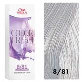 Wella Color Fresh 8/81 Light Blonde/Pearl Ash 2.5oz
