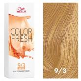 Wella Color Fresh 9/3 Very Light Blonde/Gold 2.5oz