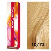 Wella Color Touch 10/73 Lightest Blonde/Brown Gold 2oz