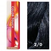 Wella Color Touch 2/0 Darkest Brown/Natural 2oz