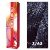 Wella Color Touch 3/68 Dark Brown/Violet Pearl 2oz