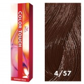 Wella Color Touch 4/57 Medium Brown/Red-Violet Brown 2oz