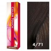 Wella Color Touch 4/71 Medium/Ash Brown 2oz
