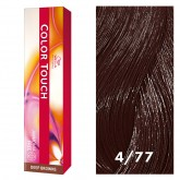 Wella Color Touch 4/77 Medium/Intense Brown 2oz