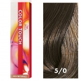 Wella Color Touch 5/0 Light Brown/Natural 2oz