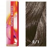 Wella Color Touch 5/1 Light Brown/Ash 2oz