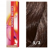 Wella Color Touch 5/3 Light Brown/Gold 2oz