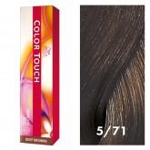 Wella Color Touch 5/71 Light/Ash Brown 2oz