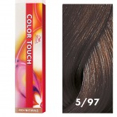 Wella Color Touch 5/97 Light/Cendre Brown 2oz