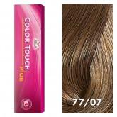 Wella Color Touch Plus 77/07 Intense Medium Blonde / Natural Brown 2oz