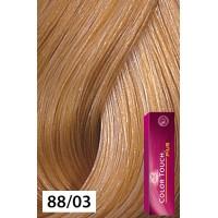 Wella Color Touch Plus 88/03 Intense Light Blonde / Natural Gold 2oz