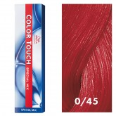 Wella Color Touch 0/45 Red Red-Violet 2oz