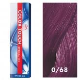 Wella Color Touch 0/68 Violet Blue 2oz