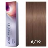 Wella Illumina Color 6/19 Dark Blonde/Ash Cendre 2oz