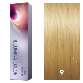 Wella Illumina Color 9 Very Light Blonde/Neutral 2oz