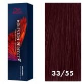 Wella Koleston Perfect Vibrant Reds 33/55 Intense Dark Brown / Red-Violet 2oz