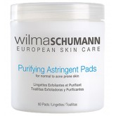 Wilma Schumann Purifying Astringent Pads 60pk