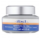 ibd LED/UV Hard Gel Builder Clear 0.5oz