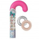 Invisibobble Holiday Candy Cane 10pk