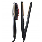 Allure 450 Flat Iron + Straightening Brush Duo J/A