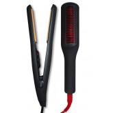 Allure 450 Flat Iron + Allure Straightening Brush Iron MRR