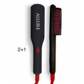 Allure Straightening Brush Iron 2+1