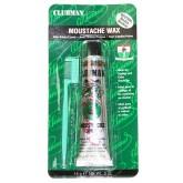 Clubman Moustache Wax Clear .5oz 070639
