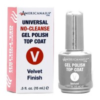 Americanails Gel Polish Velvet Top Coat 0.5oz
