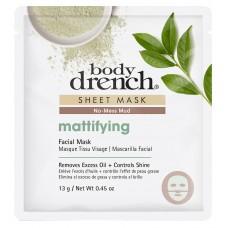 Body Drench Mattifying No-Mess Mud Sheet Mask