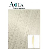 "Aqua Hair Extensions #10 Most Platinum 10pc 22"""