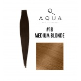 Aqua Tape Extensions #18 Medium Blonde 10pc 14""