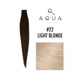 Aqua Tape Extensions #22 Light Blonde 10pc 14""