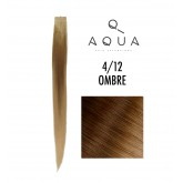 Aqua Tape Extensions Ombre #4/12 10pcs 14""
