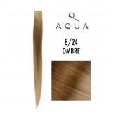 Aqua Tape Extensions Ombre #8/24 10pcs 14""