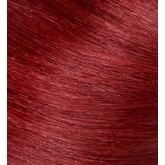 Aqua Cylinder Hair Extensions #66/46 Mahogany Red / Intense Red Mix 18""