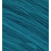 Aqua Cylinder Hair Extensions Teal 18""