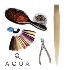 Aqua Hair Extensions School Kit 16pc