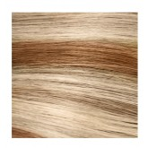 """Aqua Tape-In Extensions #8/24 Duotone Gold Brown / Light Gold Blonde 10pc 14"""""""
