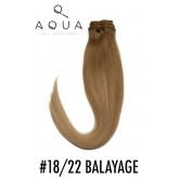 Aqua Clip-In Extensions #18/22 Balayage 18-20""