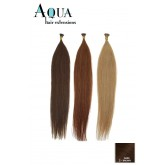 Aqua Cylinder Extensions #2 Dark Brown 18""