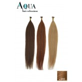 Aqua Cylinder Extensions #8 Golden Brown 18""