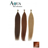 Aqua Cylinder Extensions #m4/30 Medium Brown Brown Red 18""