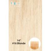 Aqua Hair Extensions #16 Blonde 10pc