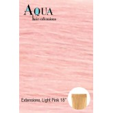 Aqua Tape In Extensions Light Pink 4pcs 18""
