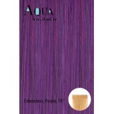 Aqua Tape In Extensions Purple 4pcs 18""