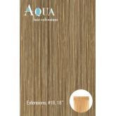 Aqua Hair Extensions #18 Medium Blonde 10pc