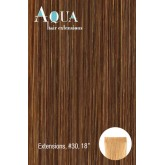 Aqua Hair Extensions #30 Brownish Red 10pc