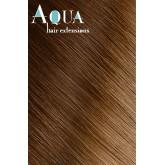 """Aqua Hair Extensions #4/12 Ombre 10pcs 18"""""""